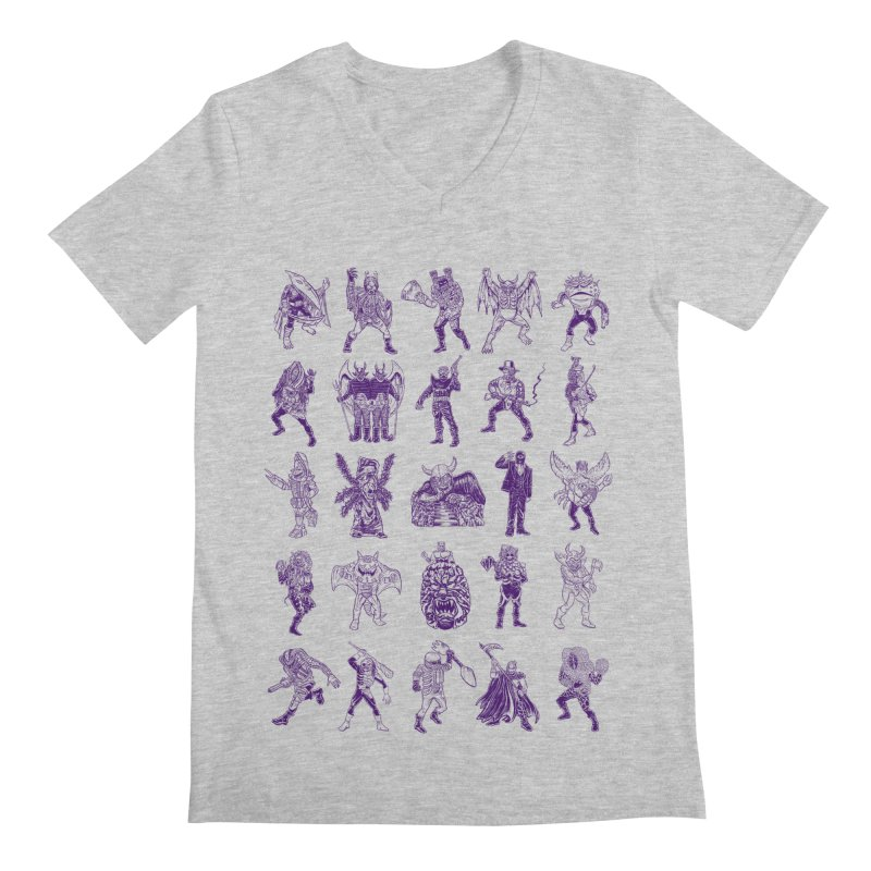 Toku Villains Men's Regular V-Neck by JB Roe Artist Shop