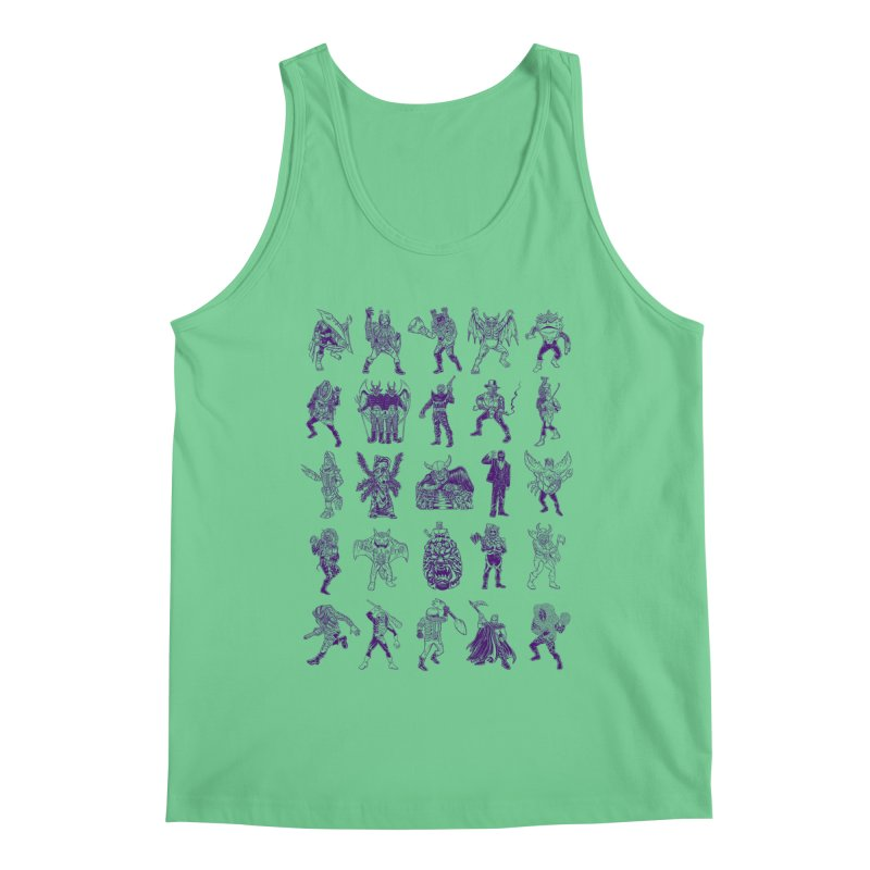 Toku Villains Men's Regular Tank by JB Roe Artist Shop