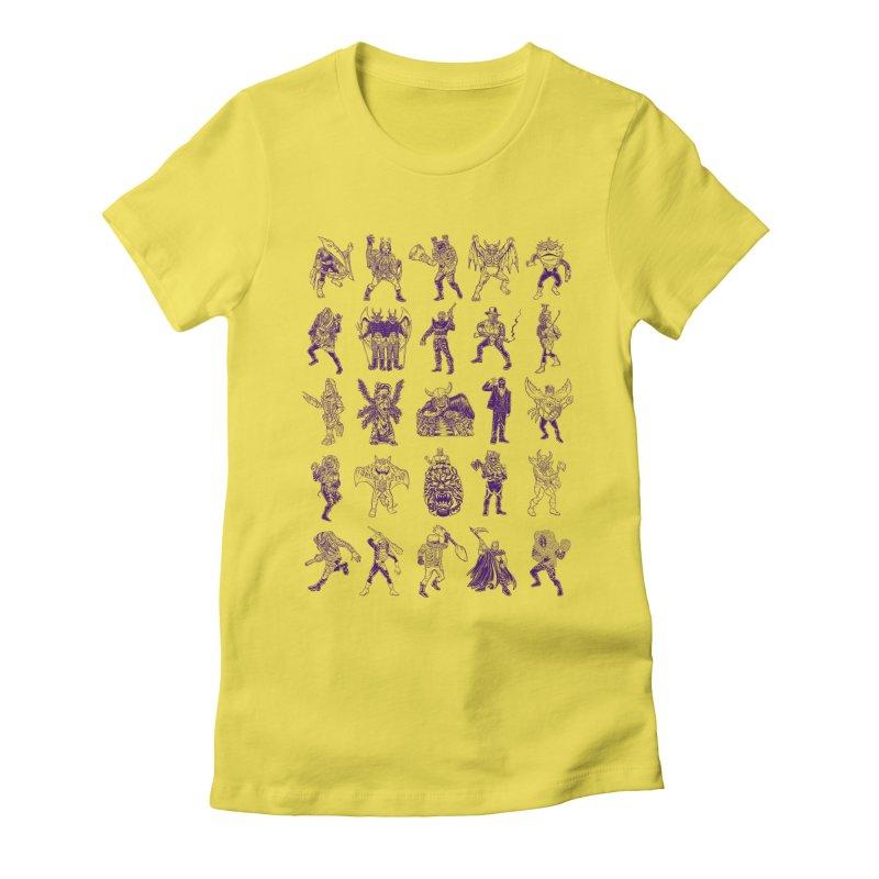 Toku Villains Women's T-Shirt by JB Roe Artist Shop