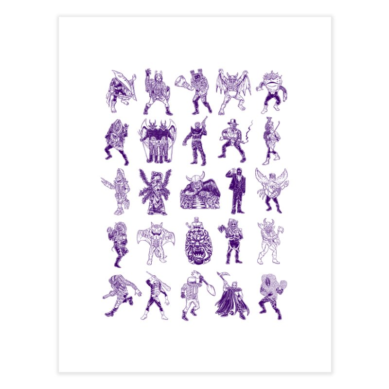 Toku Villains Home Fine Art Print by JB Roe Artist Shop