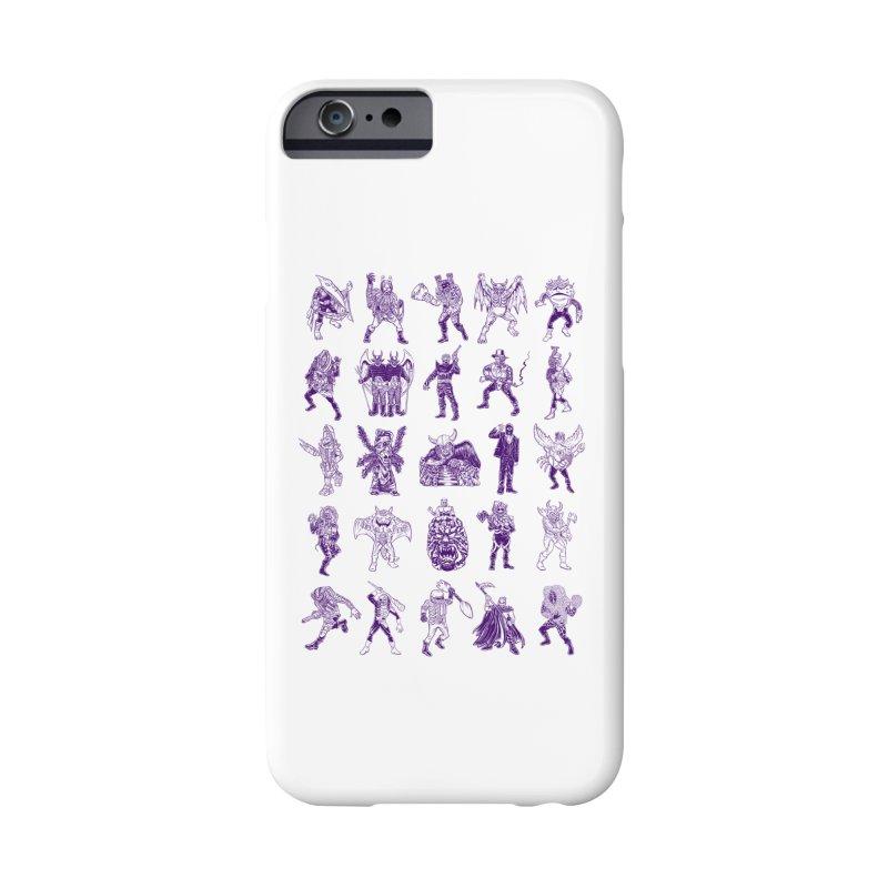 Toku Villains Accessories Phone Case by JB Roe Artist Shop