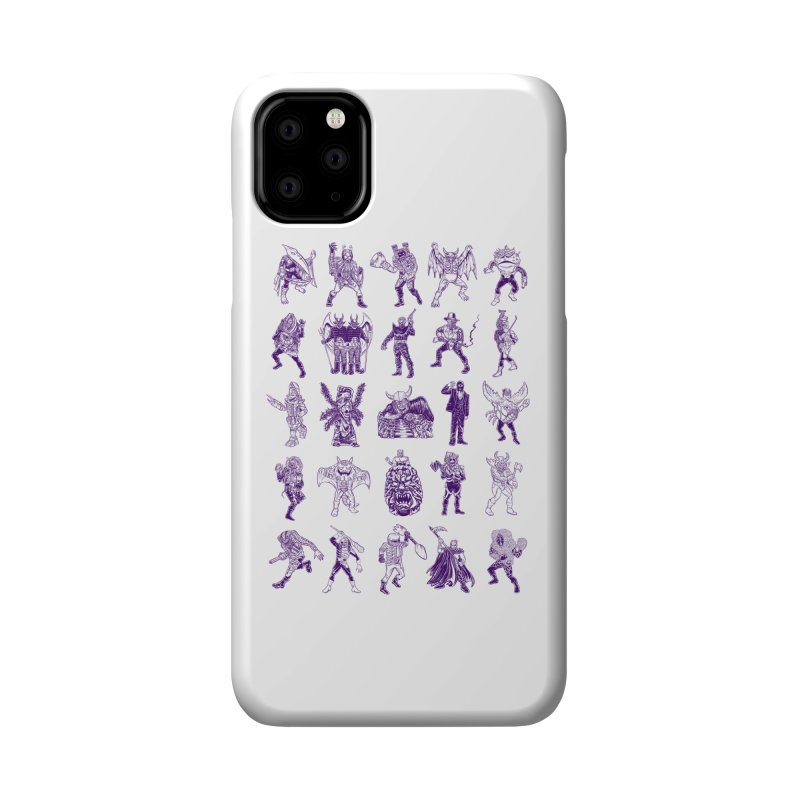 Toku Villains Accessories Phone Case by JB Roe Artist Shop