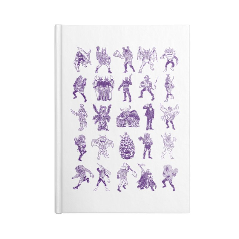 Toku Villains Accessories Blank Journal Notebook by JB Roe Artist Shop