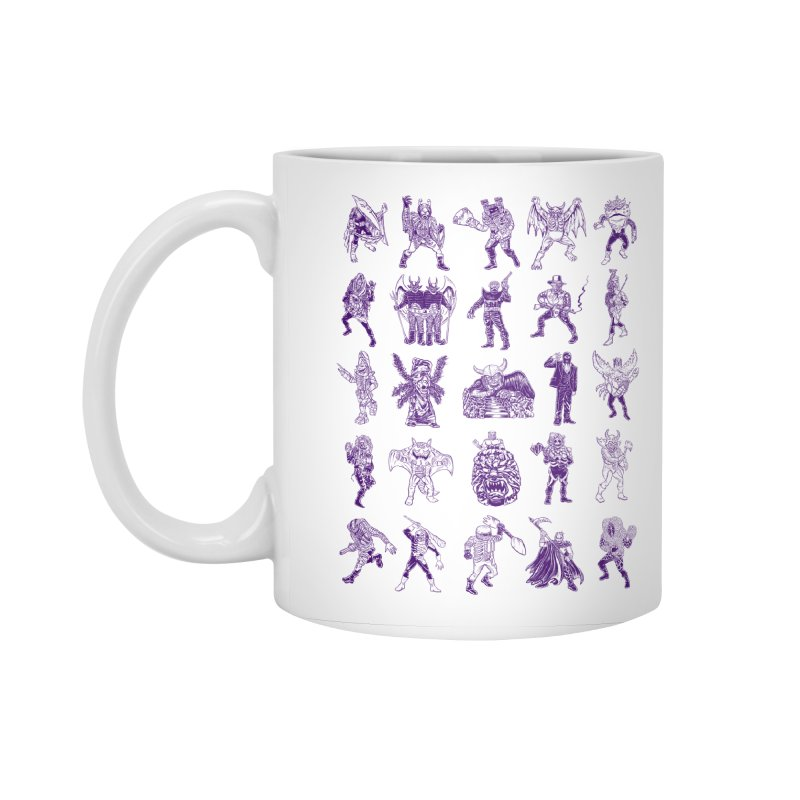 Toku Villains Accessories Standard Mug by JB Roe Artist Shop