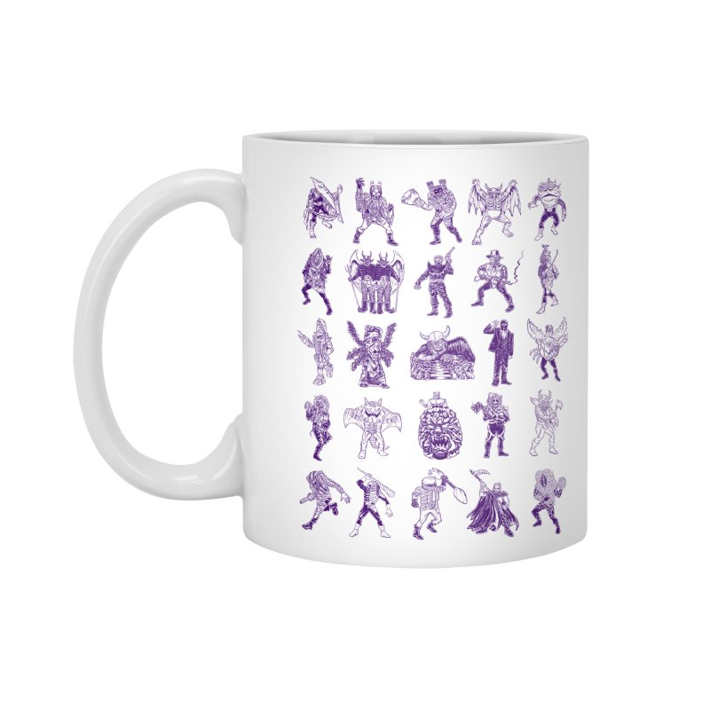 Toku Villains Accessories Mug by JB Roe Artist Shop