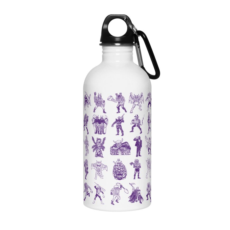 Toku Villains Accessories Water Bottle by JB Roe Artist Shop