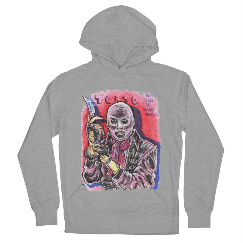 Torso Men's French Terry Pullover Hoody by JB Roe Artist Shop