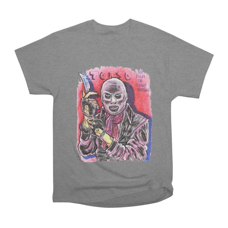 Torso Men's Heavyweight T-Shirt by JB Roe Artist Shop