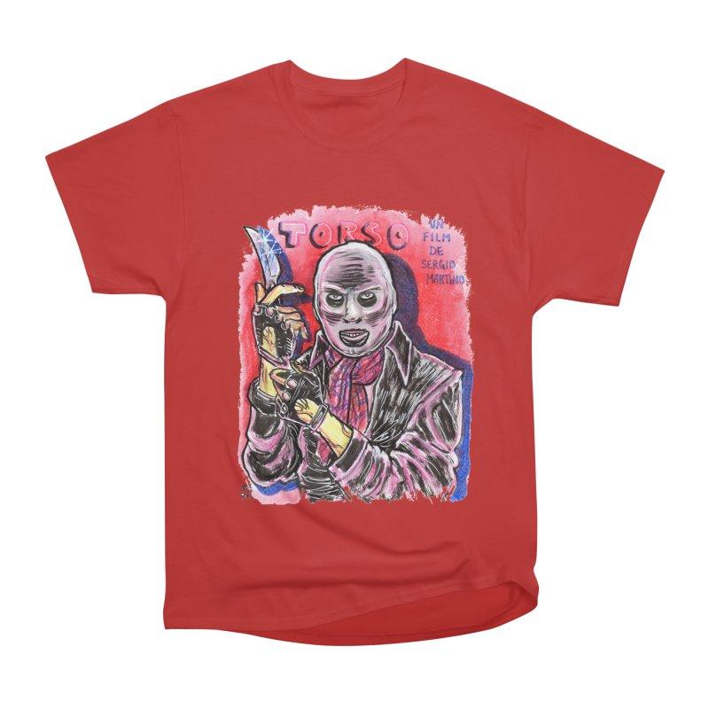 Torso Women's Heavyweight Unisex T-Shirt by JB Roe Artist Shop