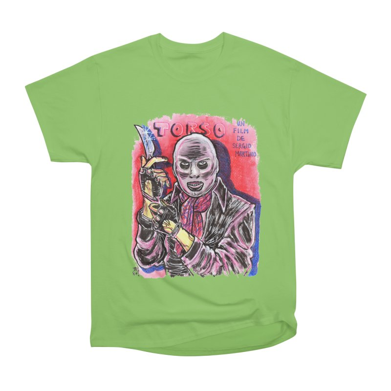 Torso Men's Heavyweight T-Shirt by JB Roe Artist Shop