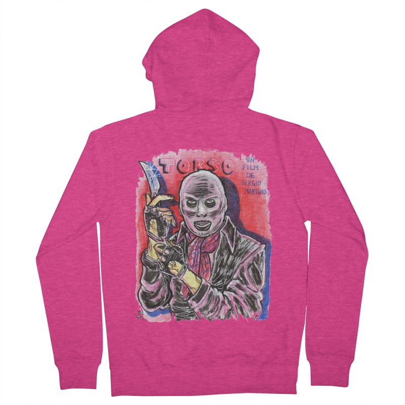 Torso Women's French Terry Zip-Up Hoody by JB Roe Artist Shop