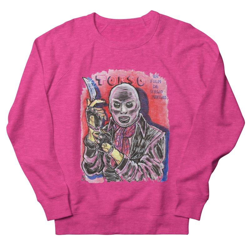 Torso Men's French Terry Sweatshirt by JB Roe Artist Shop