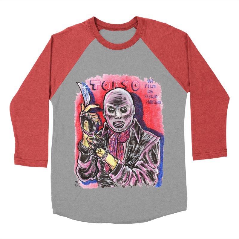 Torso Women's Baseball Triblend Longsleeve T-Shirt by JB Roe Artist Shop