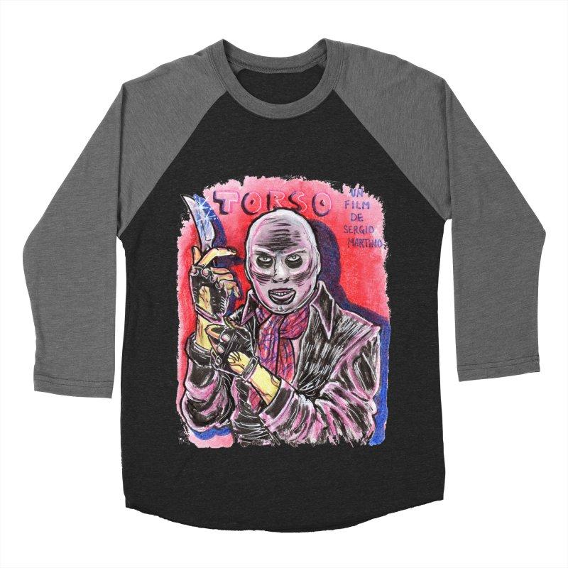 Torso Men's Baseball Triblend Longsleeve T-Shirt by JB Roe Artist Shop