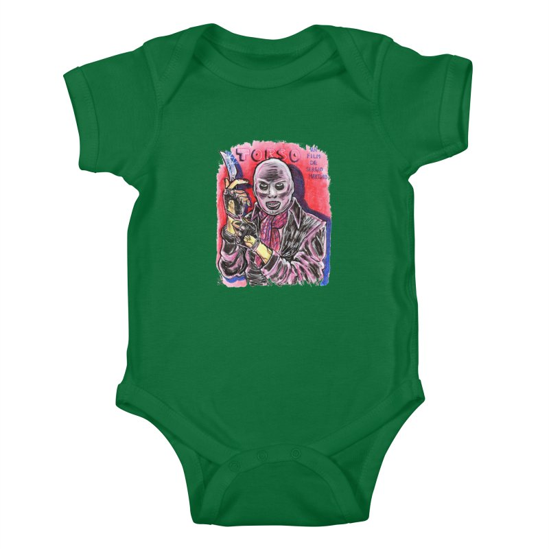 Torso Kids Baby Bodysuit by JB Roe Artist Shop