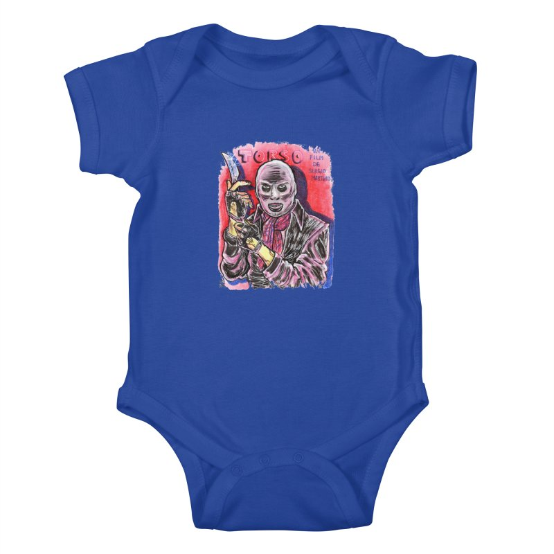 Torso Kids Baby Bodysuit by JB Roe Artist Shop