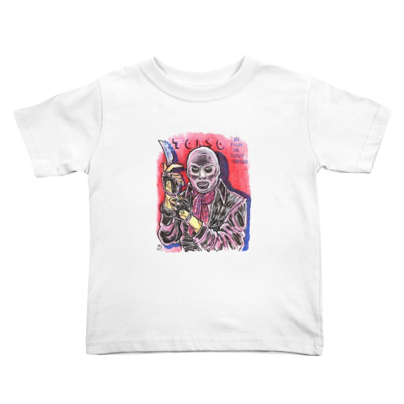 Torso Kids Toddler T-Shirt by JB Roe Artist Shop