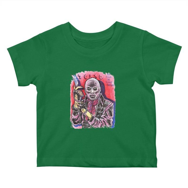 Torso Kids Baby T-Shirt by JB Roe Artist Shop