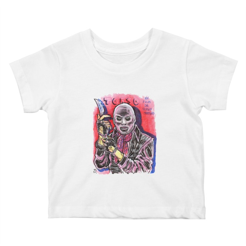 Torso Kids Baby T-Shirt by JB Roe Artist Shop