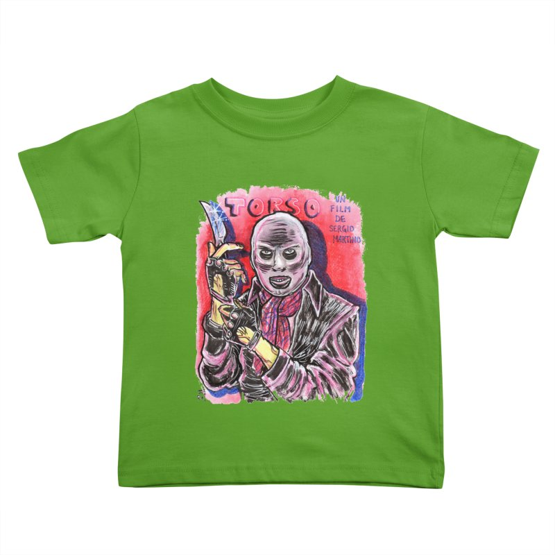 Torso Kids Toddler T-Shirt by JB Roe Artist Shop