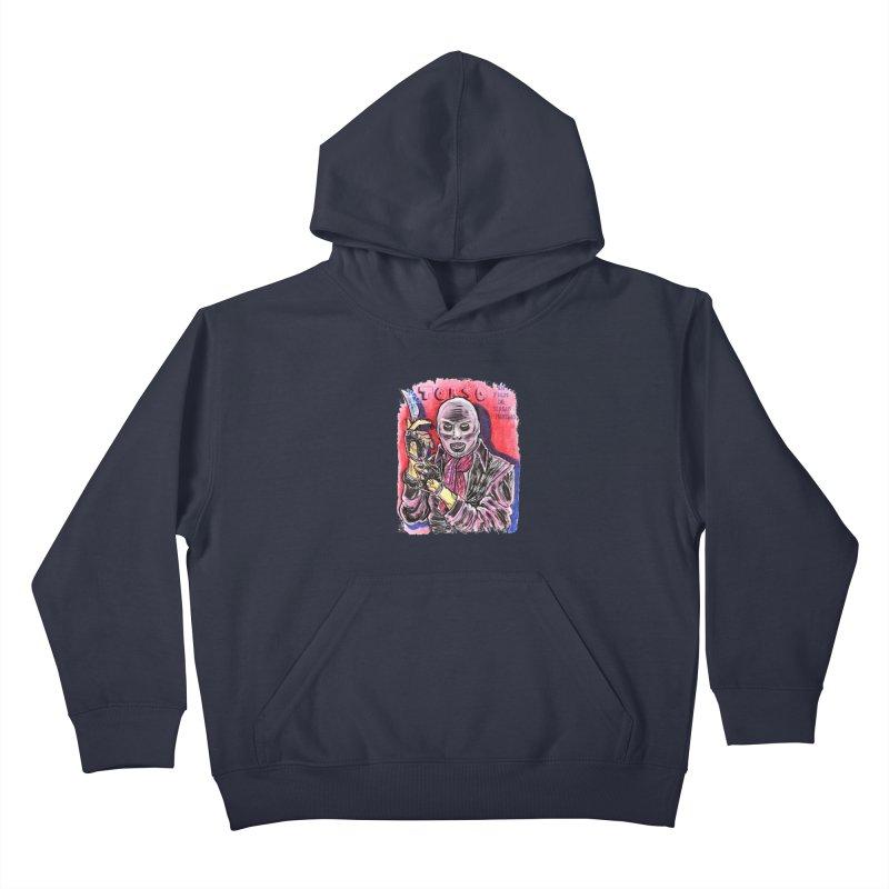 Torso Kids Pullover Hoody by JB Roe Artist Shop