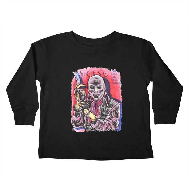 Torso Kids Toddler Longsleeve T-Shirt by JB Roe Artist Shop