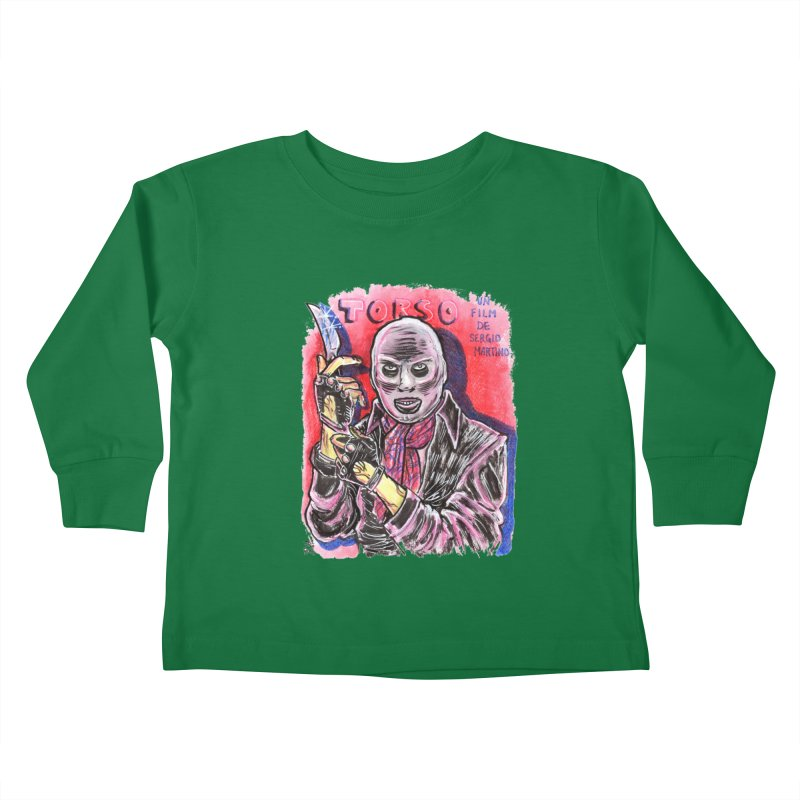 Torso Kids Toddler Longsleeve T-Shirt by JB Roe Artist Shop