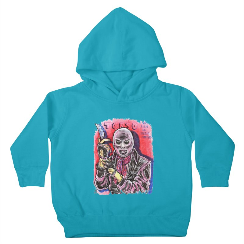 Torso Kids Toddler Pullover Hoody by JB Roe Artist Shop