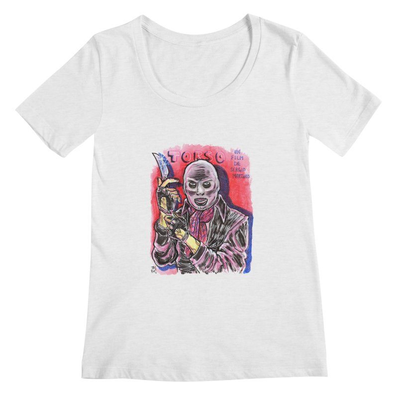 Torso Women's Regular Scoop Neck by JB Roe Artist Shop