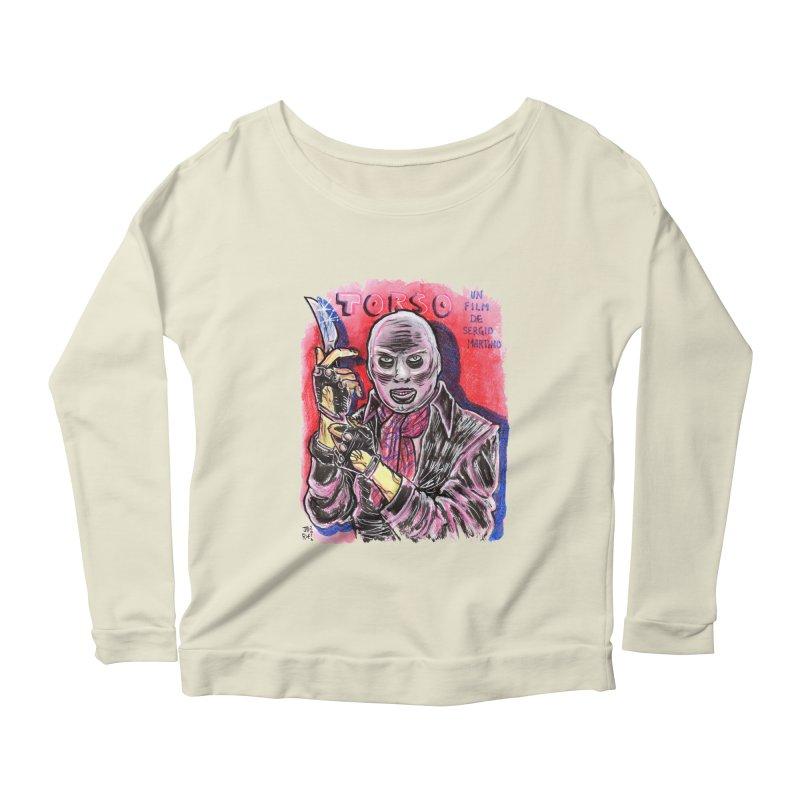 Torso Women's Scoop Neck Longsleeve T-Shirt by JB Roe Artist Shop