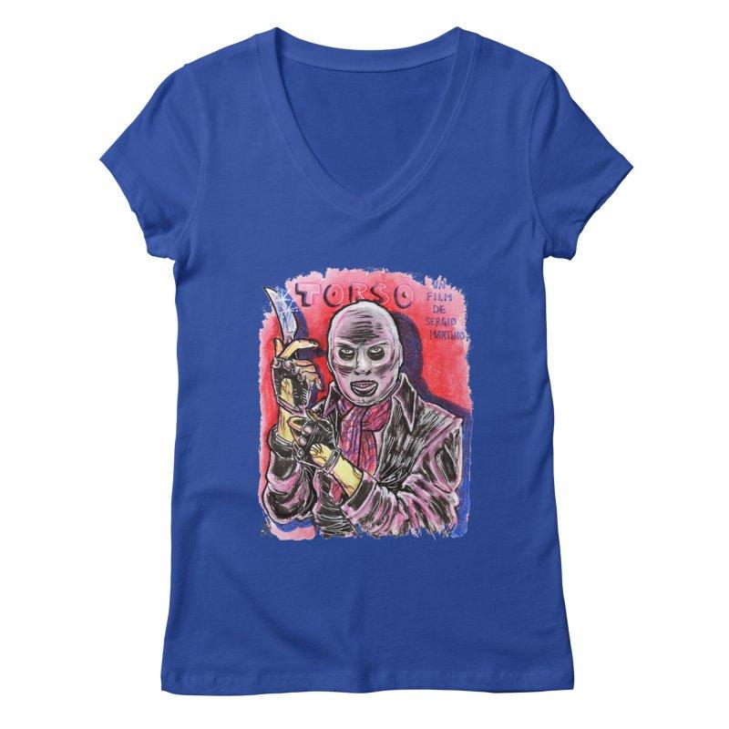 Torso Women's Regular V-Neck by JB Roe Artist Shop