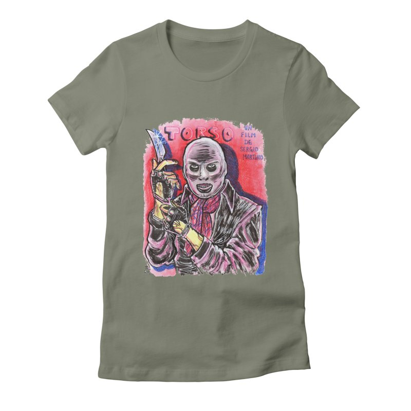 Torso Women's Fitted T-Shirt by JB Roe Artist Shop