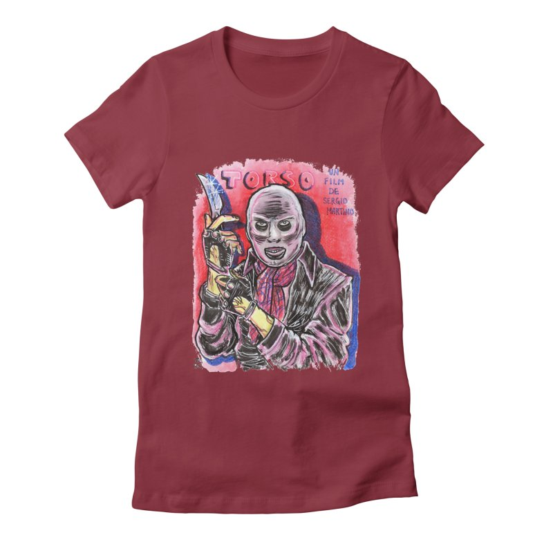 Torso Women's Fitted T-Shirt by JB Roe Artist Shop
