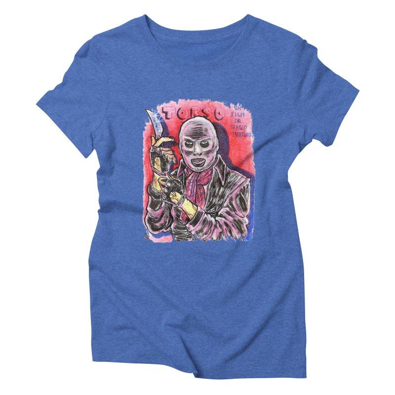 Torso Women's Triblend T-Shirt by JB Roe Artist Shop