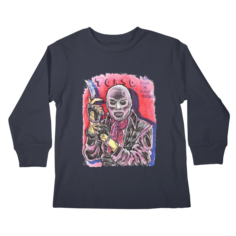 Torso Kids Longsleeve T-Shirt by JB Roe Artist Shop