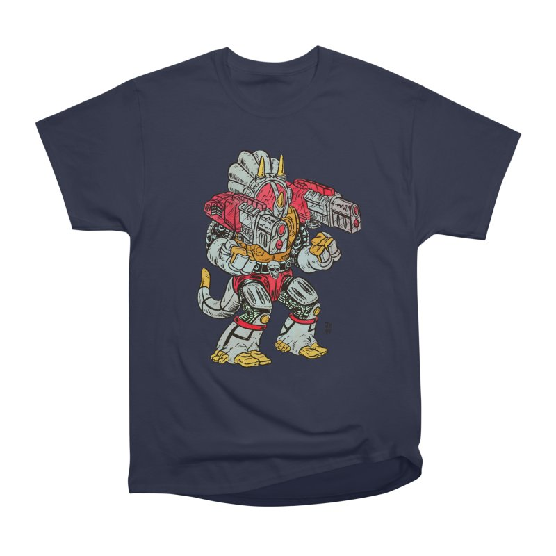 Tricera-Tank Men's Heavyweight T-Shirt by JB Roe Artist Shop