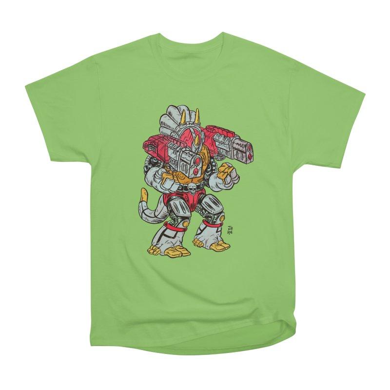 Tricera-Tank Men's Heavyweight T-Shirt by JB Roe Artist Shop