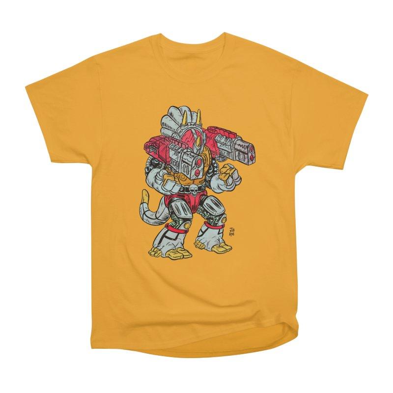 Tricera-Tank Women's Heavyweight Unisex T-Shirt by JB Roe Artist Shop