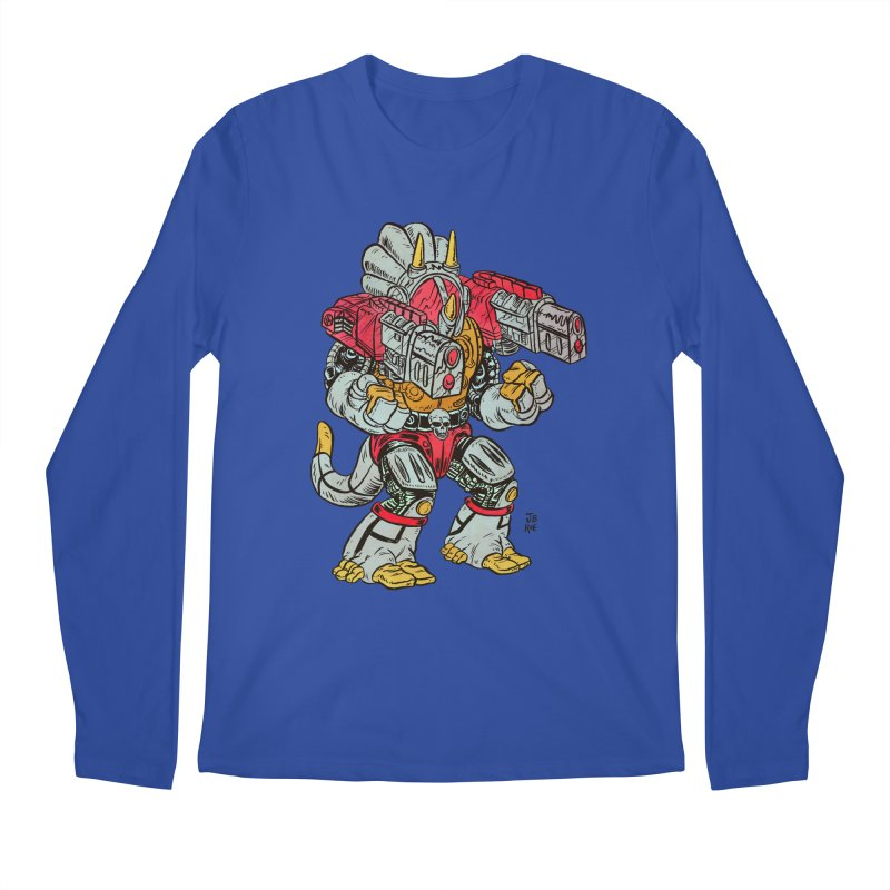 Tricera-Tank Men's Regular Longsleeve T-Shirt by JB Roe Artist Shop
