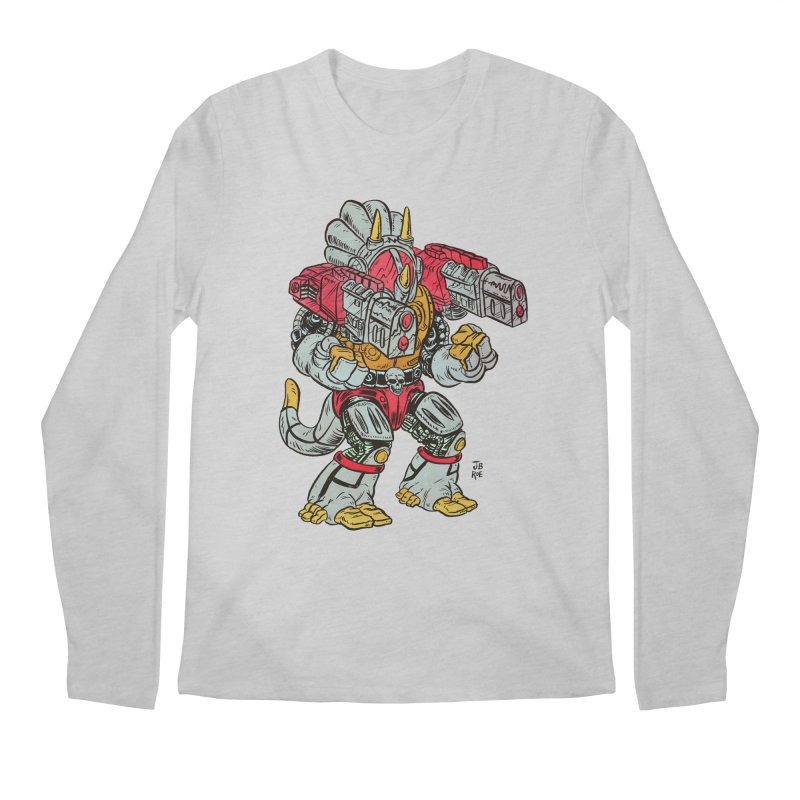 Tricera-Tank Men's Regular Longsleeve T-Shirt by JB Roe Artist Shop