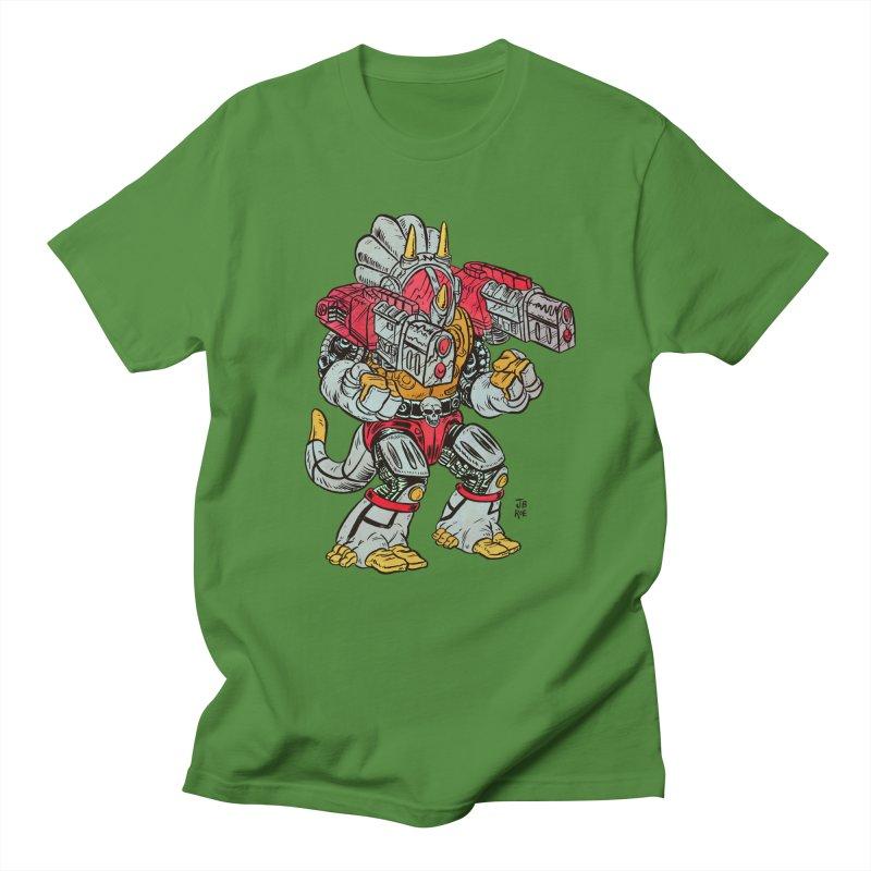 Tricera-Tank Men's Regular T-Shirt by JB Roe Artist Shop