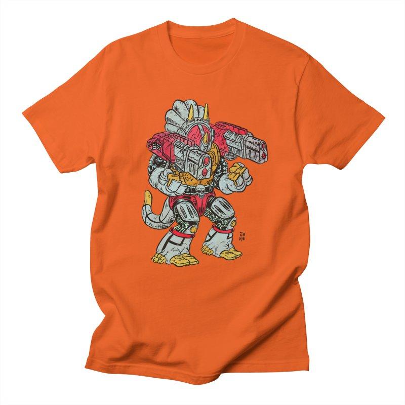 Tricera-Tank Men's T-Shirt by JB Roe Artist Shop
