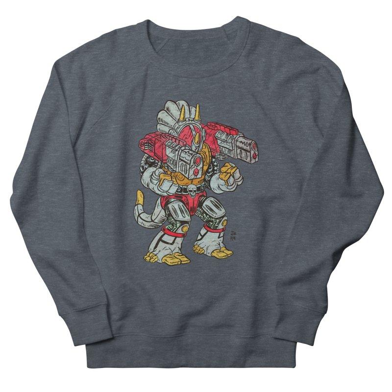 Tricera-Tank Women's French Terry Sweatshirt by JB Roe Artist Shop
