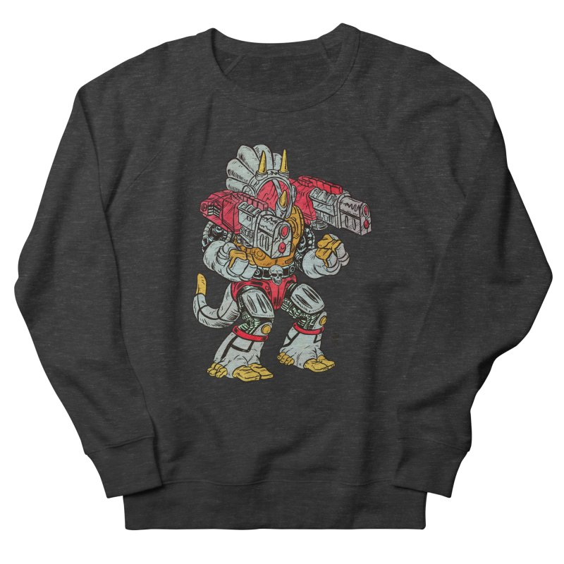 Tricera-Tank Men's French Terry Sweatshirt by JB Roe Artist Shop