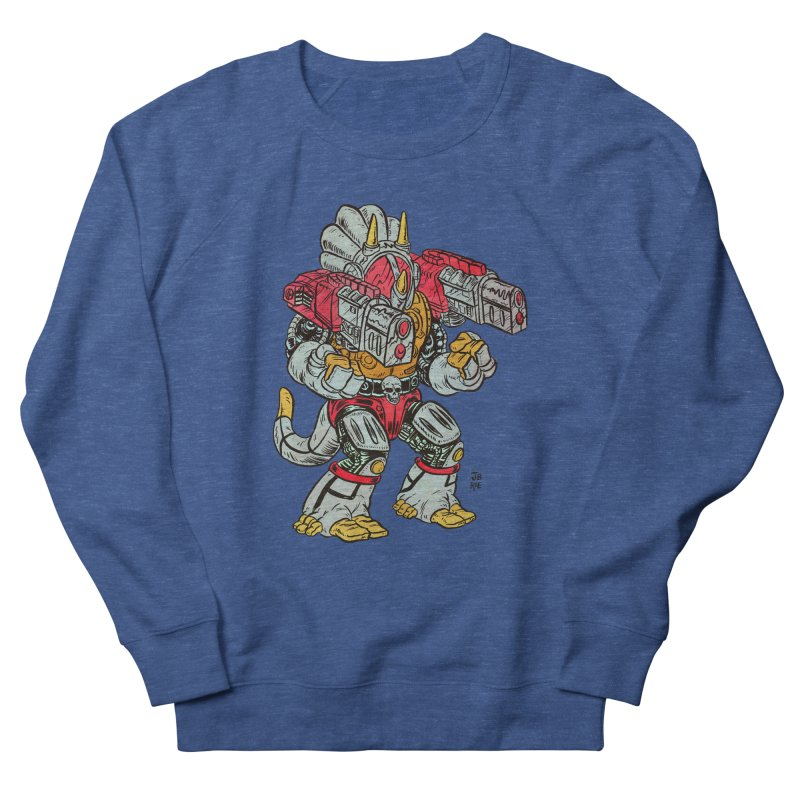 Tricera-Tank Men's Sweatshirt by JB Roe Artist Shop