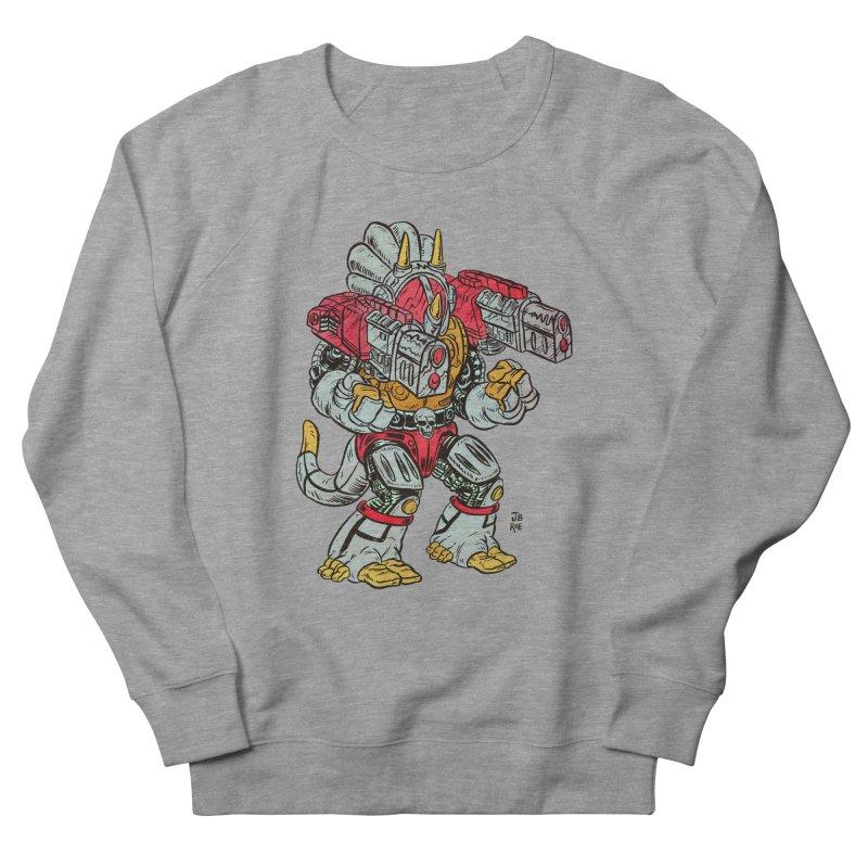 Tricera-Tank Men's French Terry Sweatshirt by JB Roe Artist Shop