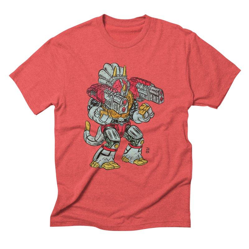 Tricera-Tank Men's Triblend T-Shirt by JB Roe Artist Shop