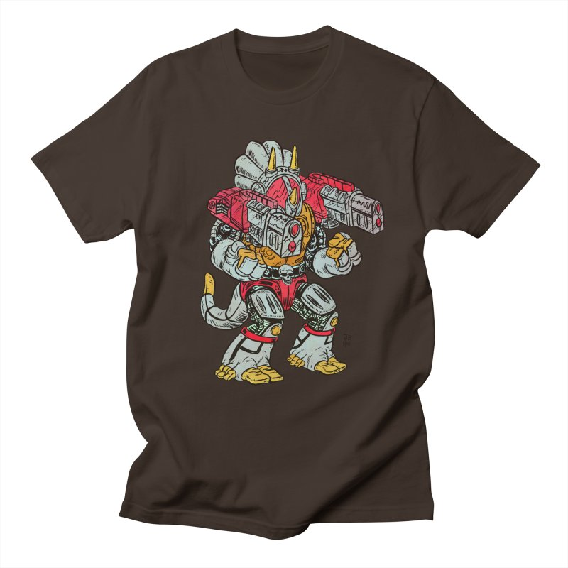 Tricera-Tank Men's T-Shirt by JB Roe Artist Shop