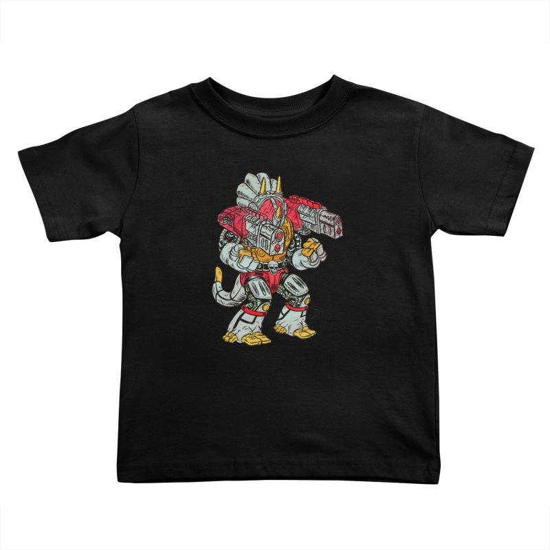 Tricera-Tank Kids Toddler T-Shirt by JB Roe Artist Shop