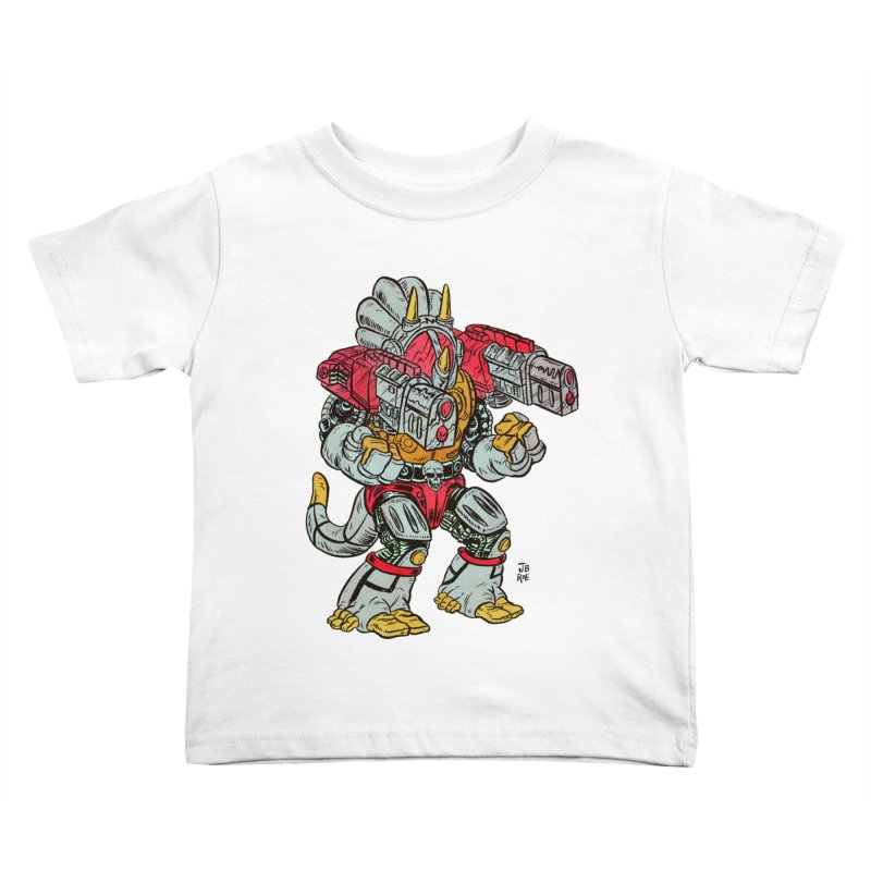 Tricera-Tank Kids Toddler T-Shirt by JB Roe Artist Shop